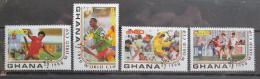 Poštovní známky Ghana 1990 MS ve fotbale nekompl