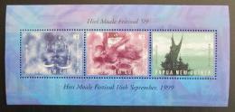 Poštovní známka Papua Nová Guinea 1999 Festival Mi# Block 16