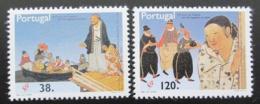 Poštovní známky Portugalsko 1992 Portugalci v Japonsku Mi# 1917-18