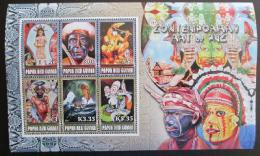 Poštovní známka Papua Nová Guinea 2007 Moderní umìní Mi# Bl 51 Kat 11€