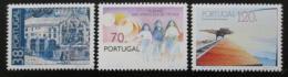 Poštovní známky Portugalsko 1992 Výroèí Mi# 1924-26