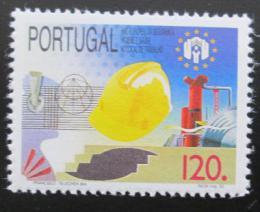 Poštovní známka Portugalsko 1992 Bezpeènost na pracovištích Mi# 1947