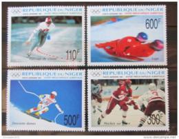 Poštovní známky Niger 1991 ZOH Albertville Mi# 1122-25