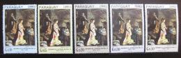 Poštovní známky Paraguay 1967 Náboženské umìní Mi# 1700-04