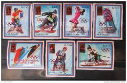 Poštovní známky Paraguay 1989 ZOH Albertville Mi# 4408-14