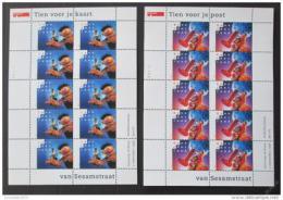 Poštovní známky Nizozemí 1996 Sezamová ulice Mi# 1588-89 Kat 70€