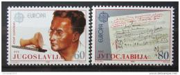 Poštovní známky Jugoslávie 1985 Evropa CEPT Mi# 2104-05