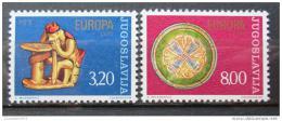 Poštovní známky Jugoslávie 1976 Evropa CEPT Mi# 1635-36