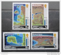 Poštovní známky Jersey 1982 Evropa CEPT Mi# 278-81