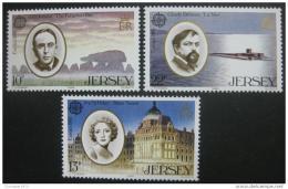 Poštovní známky Jersey 1985 Evropa CEPT Mi# 347-49