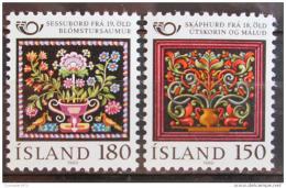 Poštovní známky Island 1980 Severská spolupráce Mi# 556-57
