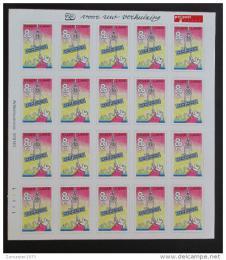 Poštovní známky Nizozemí 1997 Zmìna adresy Mi# 1605 Bogen