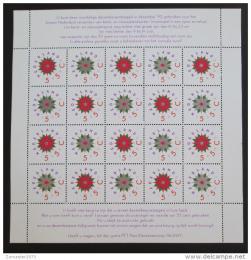 Poštovní známky Nizozemí 1992 Vánoce Mi# 1458-59 Bogen