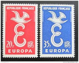 Poštovní známky Francie 1958 Evropa CEPT Mi# 1210-11