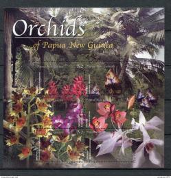 Poštovní známky Papua Nová Guinea 2002 Orchideje Mi# 948-53
