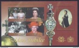 Poštovní známky Papua Nová Guinea 2002 Královna Alžbìta II. Mi# Block 20 Kat 11€