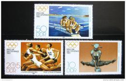 Poštovní známky DDR 1980 LOH Moskva Mi# 2503-05