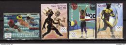 Poštovní známky Papua Nová Guinea 2004 LOH Atény Mi# 1080-83