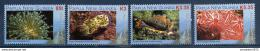 Poštovní známky Papua Nová Guinea 2008 Moøská fauna Mi# 1300-03 Kat 10€