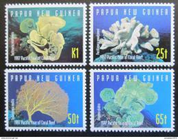 Poštovní známky Papua Nová Guinea 1997 Korály Mi# 804-07