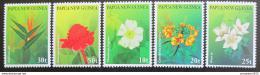 Poštovní známky Papua Nová Guinea 1997 Kvìtiny Mi# 808-12