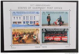 Poštovní známky Guernsey 1979 Výroèí pošty Mi# Block 2