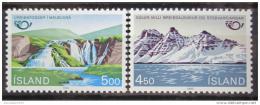 Poštovní známky Island 1983 Severská spolupráce Mi# 596-97