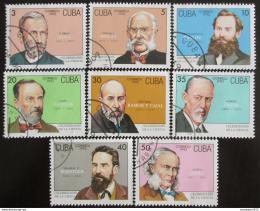 Poštovní známky Kuba 1993 Vìdci Mi# 3661-68