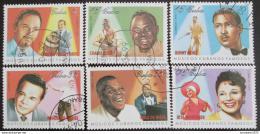 Poštovní známky Kuba 2000 Hudebníci Mi# 4190-95
