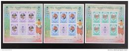 Poštovní známky Dominika 1981 Královská svatba Mi# 713-15