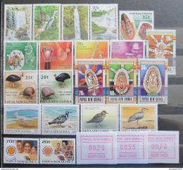Poštovní známky Papua Nová Guinea 1990 Kompletní roèník Kat 36.70€