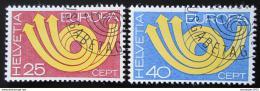 Poštovní známky Švýcarsko 1973 Evropa CEPT Mi# 994-95