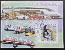 Poštovní známka Guinea-Bissau 2006 Mìstská doprava Mi# 3385