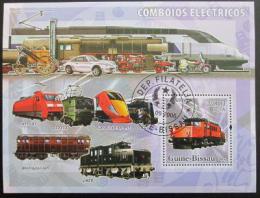 Poštovní známka Guinea-Bissau 2006 Lokomotivy Mi# 3385 - zvìtšit obrázek