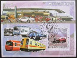 Poštovní známka Guinea-Bissau 2006 Mìstská doprava Mi# 3384