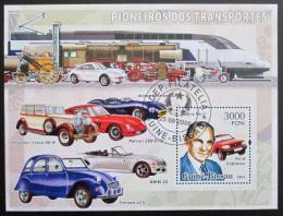 Poštovní známky Guinea-Bissau 2006 Automobily Mi# 3378 - zvìtšit obrázek