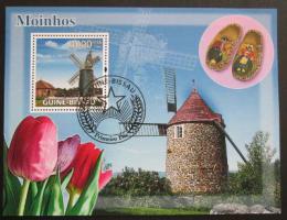 Poštovní známka Guinea-Bissau 2008 Mlýny Mi# Block 663