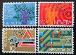 Poštovní známky Švýcarsko 1972 Výroèí a události Mi# 964-67