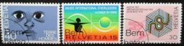 Poštovní známky Švýcarsko 1973 Výroèí a události Mi# 1000-02