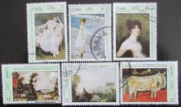 Poštovní známky Kuba 1978 Umìní Mi# 2273-78