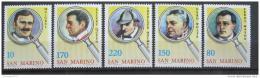 Poštovní známky San Marino 1979 Detektivové Mi# 1175-79