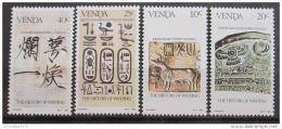 Poštovní známky Venda, JAR 1983 Historické nápisy Mi# 74-77