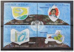 Poštovní známky Palau 1995 Výroèí OSN a FAO Mi# 941-44