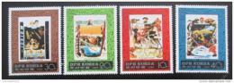 Poštovní známky KLDR 1980 Moøeplavci Mi# 1985-88