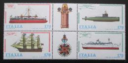 Poštovní známky Itálie 1979 Lodì Mi# 1673-76
