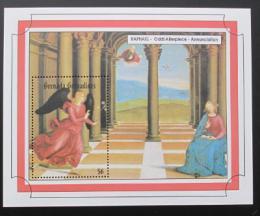 Poštovní známka Grenada Gren. 1993 Umìní,Raffael Mi# Block 290