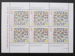 Poštovní známky Portugalsko 1981 Kachlièky Mi# Block 33