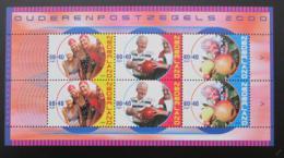 Poštovní známky Nizozemí 2000 Život seniorù Mi# Block 64