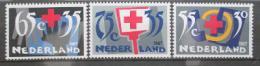 Poštovní známky Nizozemí 1987 Èervený køíž Mi# 1323-25