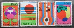 Poštovní známky Nizozemí 1972 Letní festivaly Mi# 983-86